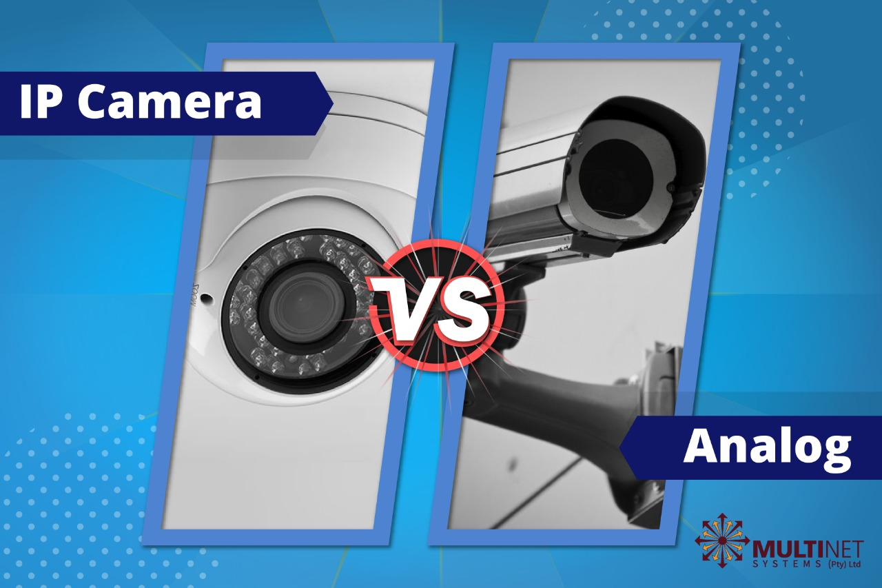 Analog Camera VS IP Camera